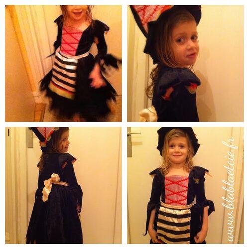 Le déguisement  de Minipuce pour Halloween