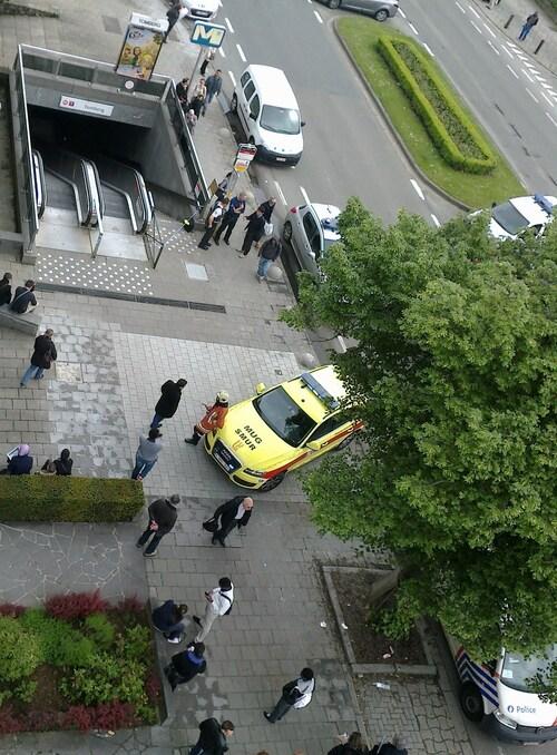Tentative de suicide au métro Tomberg