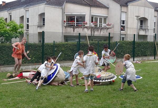 Les Hoplites en Galatia de retour au Musée du Pays Châtillonnais-Trésor de Vix