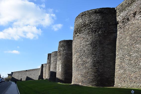 Les murailles de Lugo