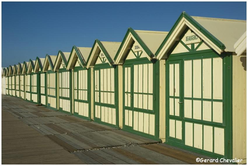 Cayeux-sur-mer - Les cabines  #2