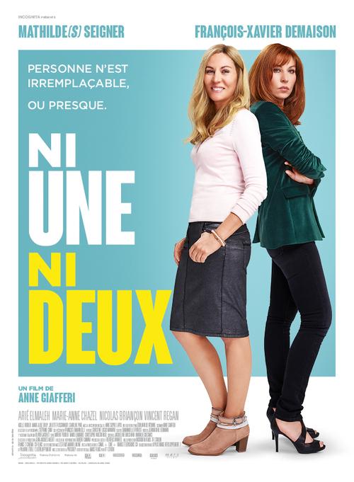 NI UNE NI DEUX : La première photo du nouveau film d'Anne Giafferi ! Le 29 mai 2019 au cinéma