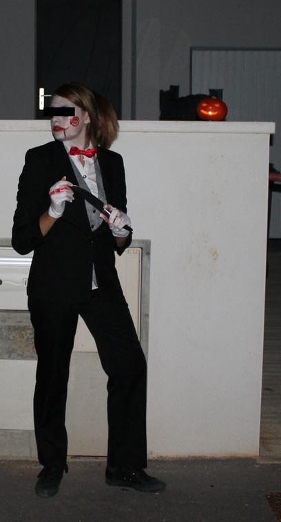 Cosplay Halloween #2 : Poupée Saw (3)