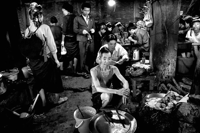 Une gargotte a Vinh Quang