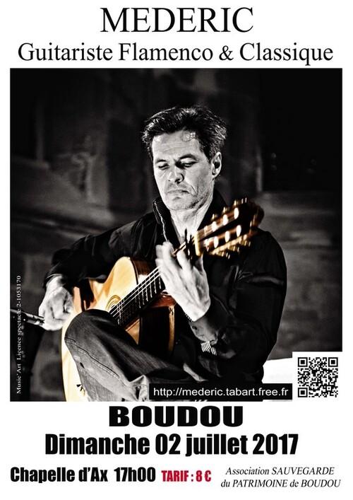 MEDERIC Guitariste Flamenco et Classique