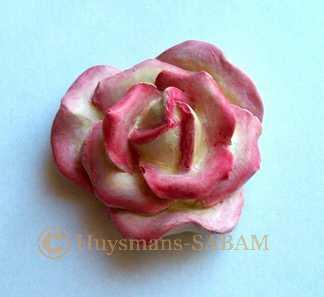 rose miniature peinte - Arts et sculpture: sculpteur mouleur