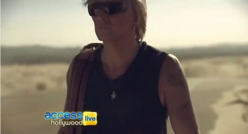 Access Hollywood 09/25/2012 Richie Sambora