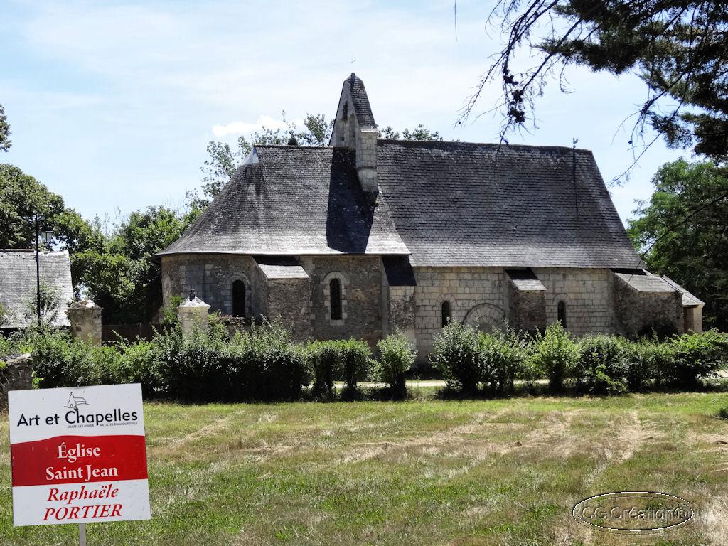 """Circuit """"Art et Chapelles"""" en Maine & Loire"""