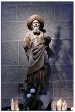 Le début du chemin vers St Jacques de Compostelle...