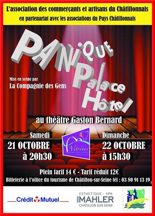"""""""Panique Palace Hôtel"""" c'est ce week-end !"""