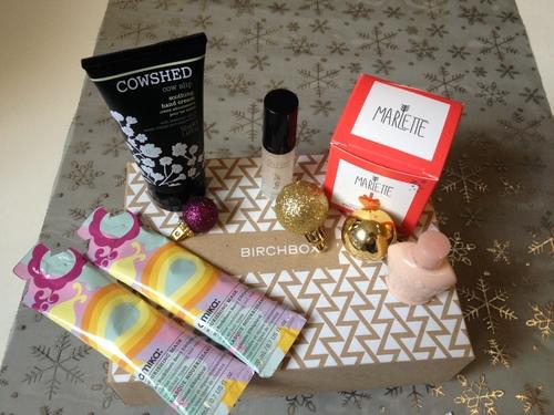 En décembre, Birchbox nous souhaite d'Happy fêtes !