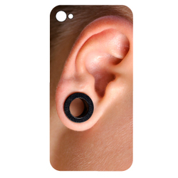 Stickers Iphones Percing oreille Homme