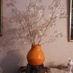 Michelle: Vase original de grande taille en deux parties