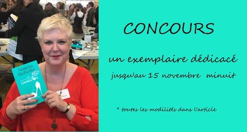 """CONCOURS """"Le Caméléon""""  dédicacé par Angela Behelle"""
