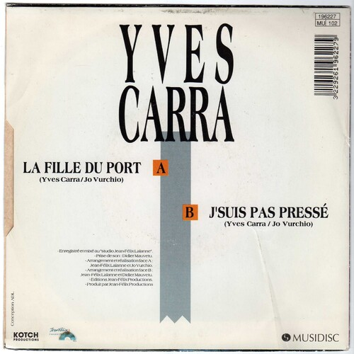 Yves Carra - La Fille Du Port 02