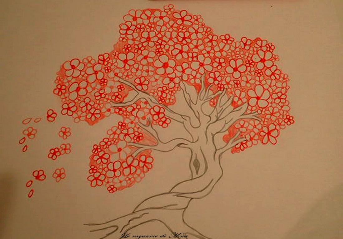 Dessin Le Cerisier Du Japon The Kingdom Of Mina Le Royaume De Mina