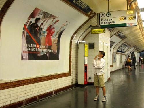 affiche RATP conseils bestiaire poule