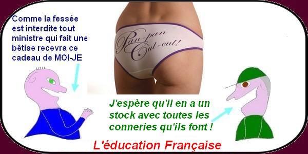 La fessée est interdite officiellement en France.