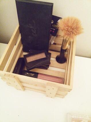 DIY rangement make-up !