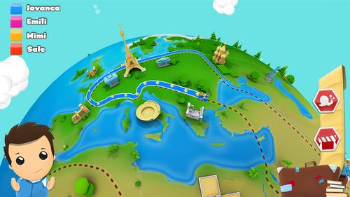 Géographie 3D