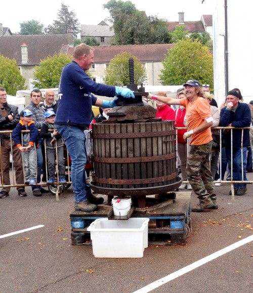 Fête 2016 de la pomme à Laignes...