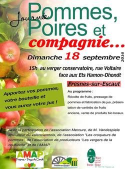 Fête du verger, à Fresnes-sur-Escaut