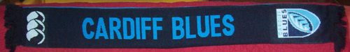 Echarpe Cardiff Blues (Verso)