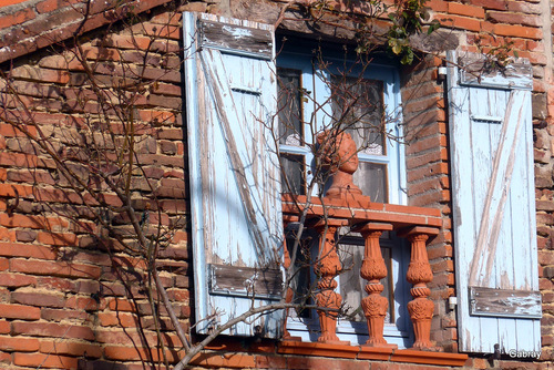 Une maison ancienne du Toulousain