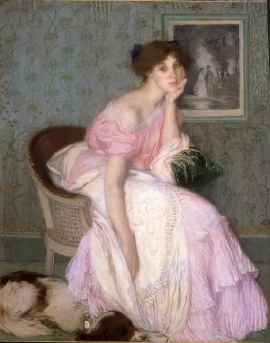 Edmond Aman-Jean, Miss Ella Carmichael