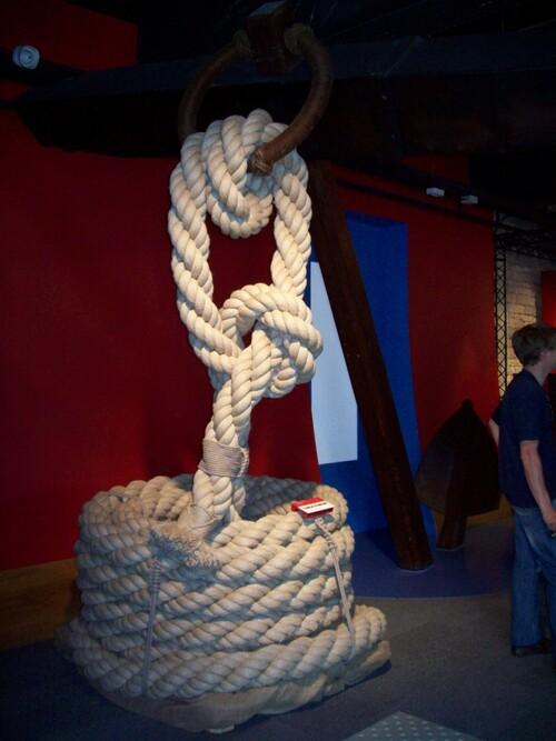 Visite de la corderie (ou comment réaliser des cordages)