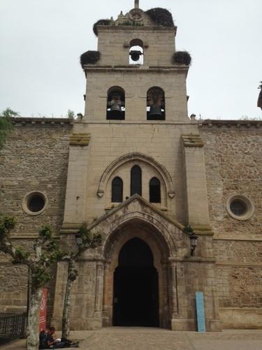 église Santana Maria de Belorado