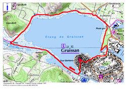 C'est la News (prochaine randonnée de la page d'accueil) : Le Sentier thématique Tour de l'étang de Gruissan