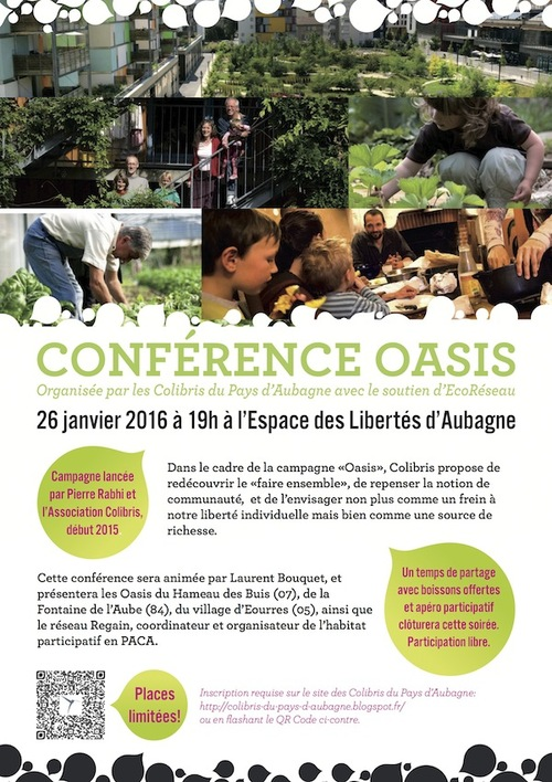Conférence Oasis