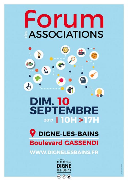 Dimanche 10 septembre 17, la LP04 tiendra un stand au Forum des Associations à Digne