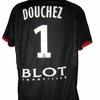Nicolas DOUCHEZ : Maillot de gardien RENNES - MANS 21.11.09