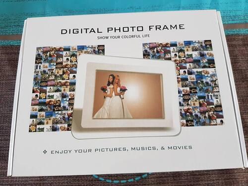 Superbe cadre photo numérique