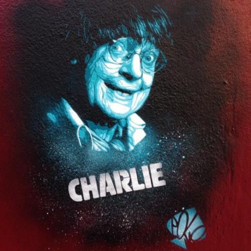 Le street art rend hommage aux dessinateurs de Charlie