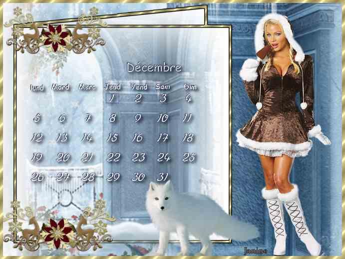 Calendrier   décembre 2   pour le défi de Sissi Douceur