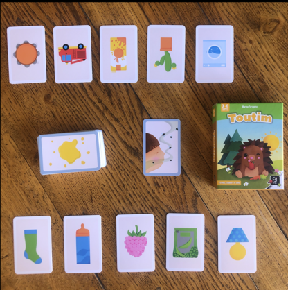 Jeux pour travailler le langage en maternelle.