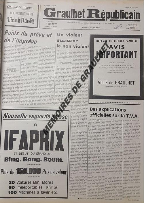 - Mai 1968