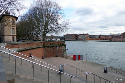 Toulouse: la Garonne ...