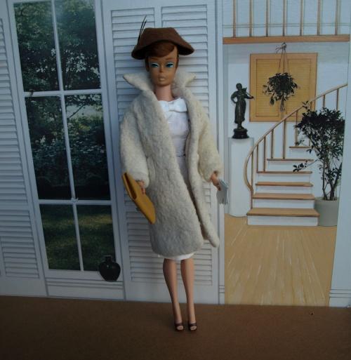 Barbie vintage : Peachy Fleecy coat