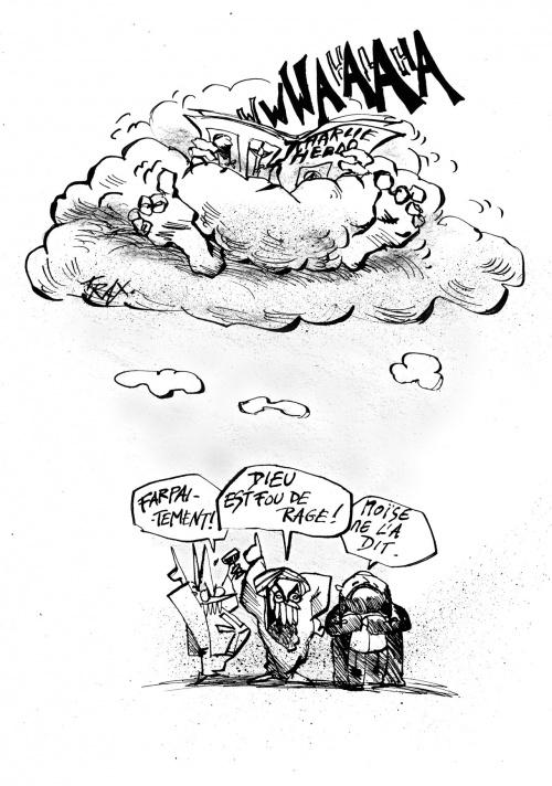 blasphème caricature prophète Charlie-Hebdo Mohammed