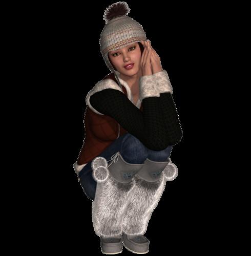 Tubes poser, fées, elfes, hiver