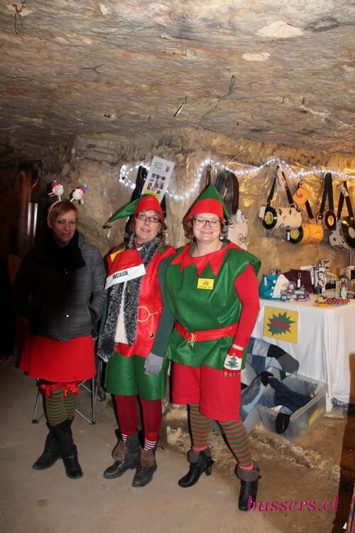 marché de noel dans les grottes de wonck