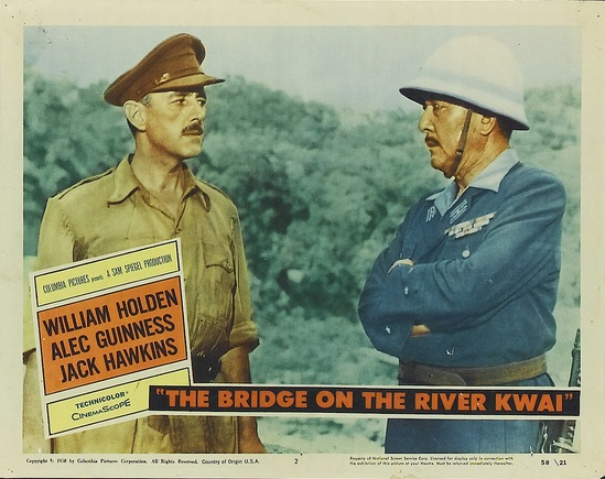 LE PONT DE LA RIVIERE KWAI - ALEC GUINNESS BOX OFFICE 1957