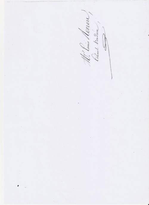 Une demande de pension de Louis Renou....