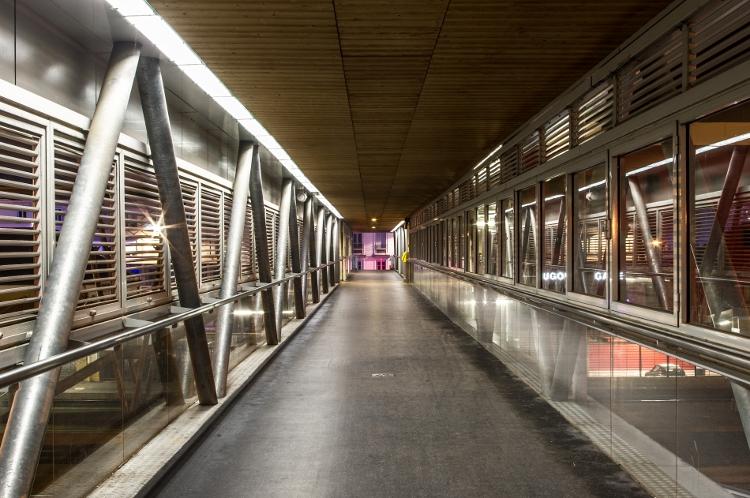Roanne, le soir #40, gare SNCF, décembre 2013