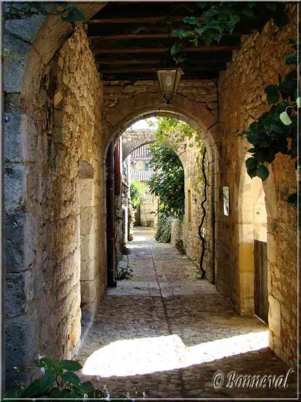Monpazier Dordogne le carreyrou du Pontet