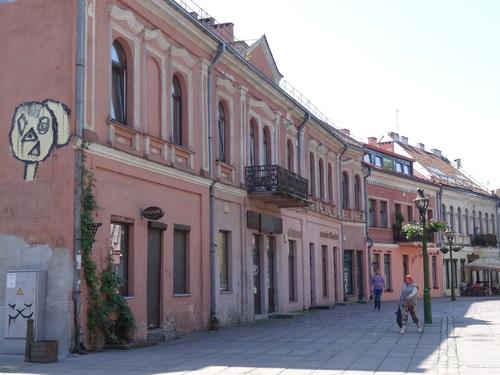 Flânerie au centre de Kaunas en Lituanie (photos)